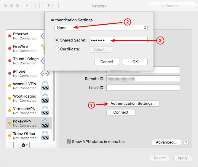 strongSwan服务器用PSK方式建立IKEv2 VPN连接